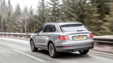 Bentley Bentayga V8 – rear quarter