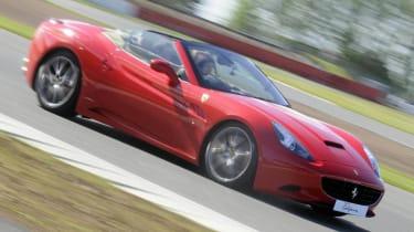 Ferrari California V8 engine recall
