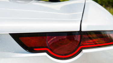 Jaguar F-type 400 Sport rear light