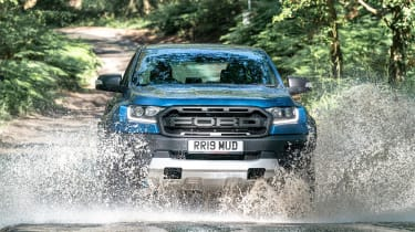Ford Ranger Raptor UK - front