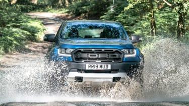 Ford Ranger Raptor UK - front