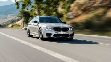 BMW M5 Competition review - nise