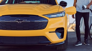 Ford Mustang Mach-E GT Performance Edition front close