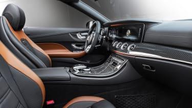 Mercedes-AMG E53 – cabriolet interior