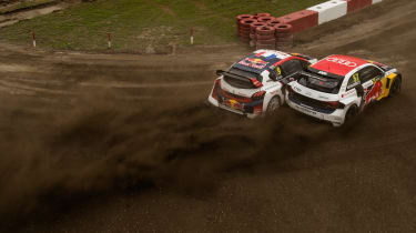 World RX R9 Canada - Audi A1 sideways