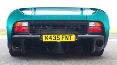 Jaguar XJ220 rear