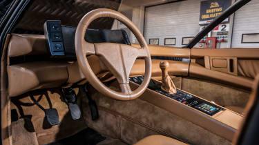 Ferrari Pinin interior