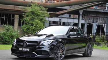 Brabus tuned Mercedes-AMG C63 S gets 591 bhp and supercar
