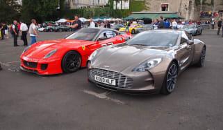 2011 Le Mans supercar parade