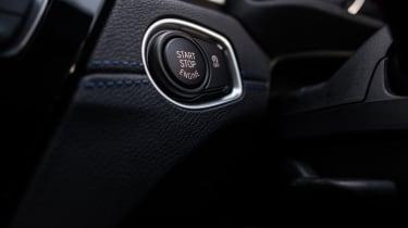 BMW X2 – Start button