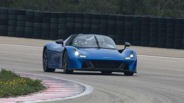 Dallara Stradale - track