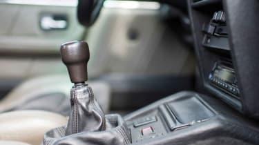 Audi Sport Quattro - Gear stick