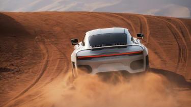 Gemballa Marsien – rear dune 2
