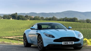 Aston Martin DB11 - Frosted Glass blue