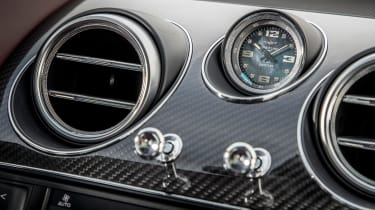 Bentley Bentayga V8 – aluminium vent controls