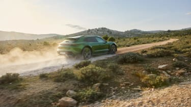 Porsche Taycan Cross Turismo - Turbo S rear