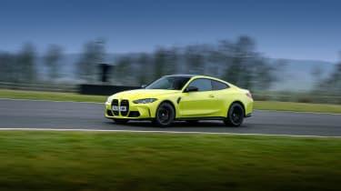 BMW M4 Competition Sao Paulo on track – slide quarter