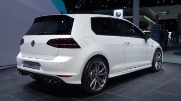 VW Golf R mk7 white rear