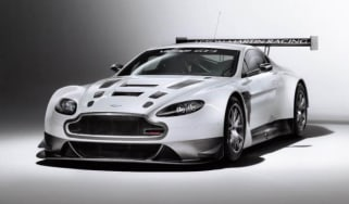 Aston Martin V12 Vantage GT3 racing car
