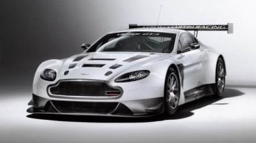 Aston Martin V12 Vantage GT3 racing car