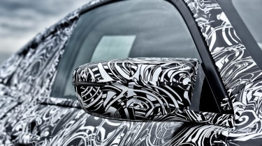 BMW M8 prototype - doors