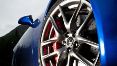 Lexus LFA tribute video alloy wheel