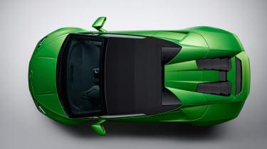 Lamborghini Huracan Evo Spyder - top