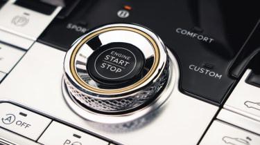 Bentley Continental GT Speed – engine start stop