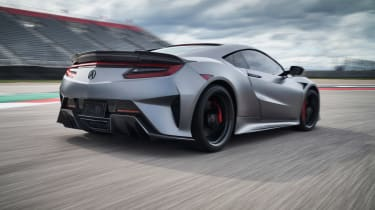 Acura NSX Type S – rear tracking