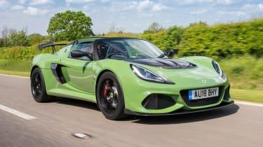 Lotus Exige Sport 410 – front quarter