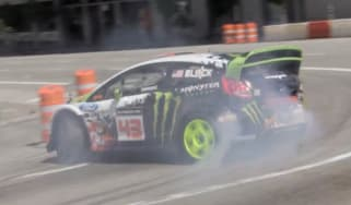 Ken Block's Gymkhana 5 video