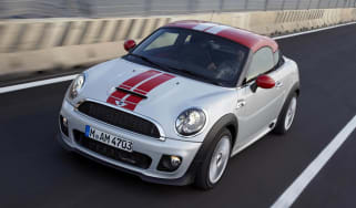 Mini Coupe Cooper action video