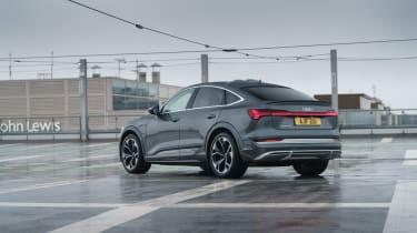 Audi e-tron S Sportback - rear quarter