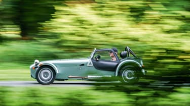 Caterham 160 - side