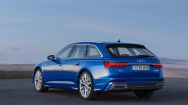 Audi A6 Avant launch - rear