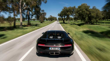 Bugatti Chiron - rear