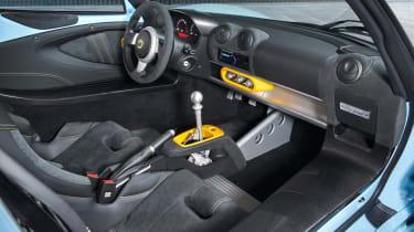 Lotus Exige 410 Sport – interior