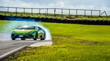 Lamborghini Huracán Evo RWD – sliding
