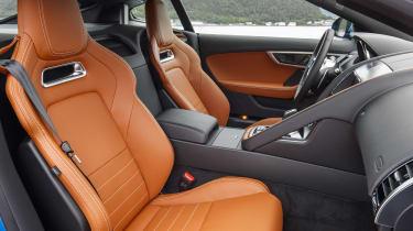 Jaguar F-type four-cylinder seats