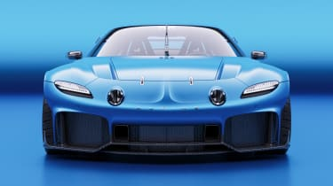 Alpine A110 GTA concept – nose
