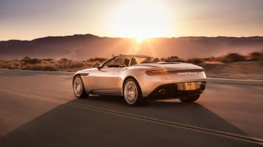 Aston Martin DB11 Volante - rear quarter down