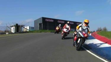 Knockhill circuit goes backwards