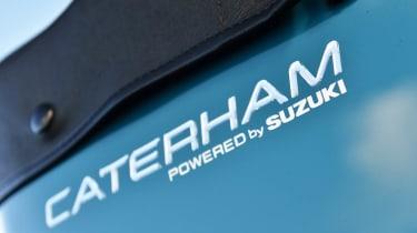 Caterham Seven 160 powered by Suzuki badge