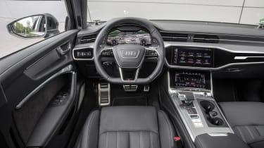 Audi A6 2018 Avant first drive - cabin