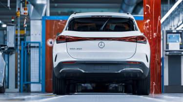 Mercedes-Benz EQA rear