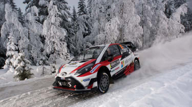 WRC Yaris front