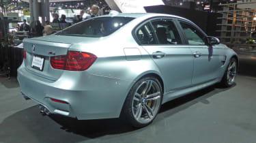 BMW M3 Saloon New York motor show