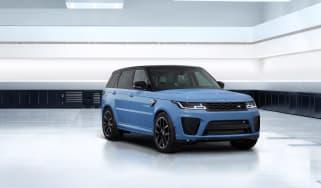 Range Rover Sport SVR Ultimate edition – front quarter