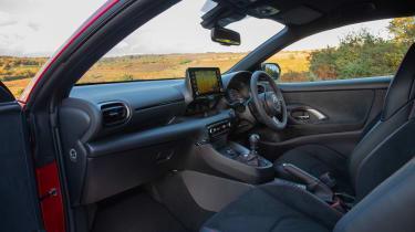 2020 Toyota GR Yaris Red - interior