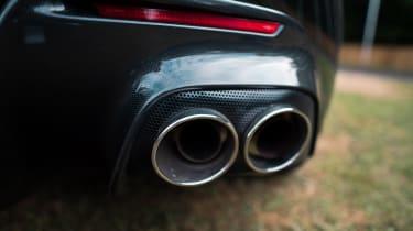 Ferrari Monza SP2 Goodwood FoS exhaust